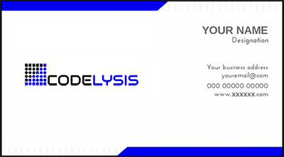 visiting card designing company or business card designing company